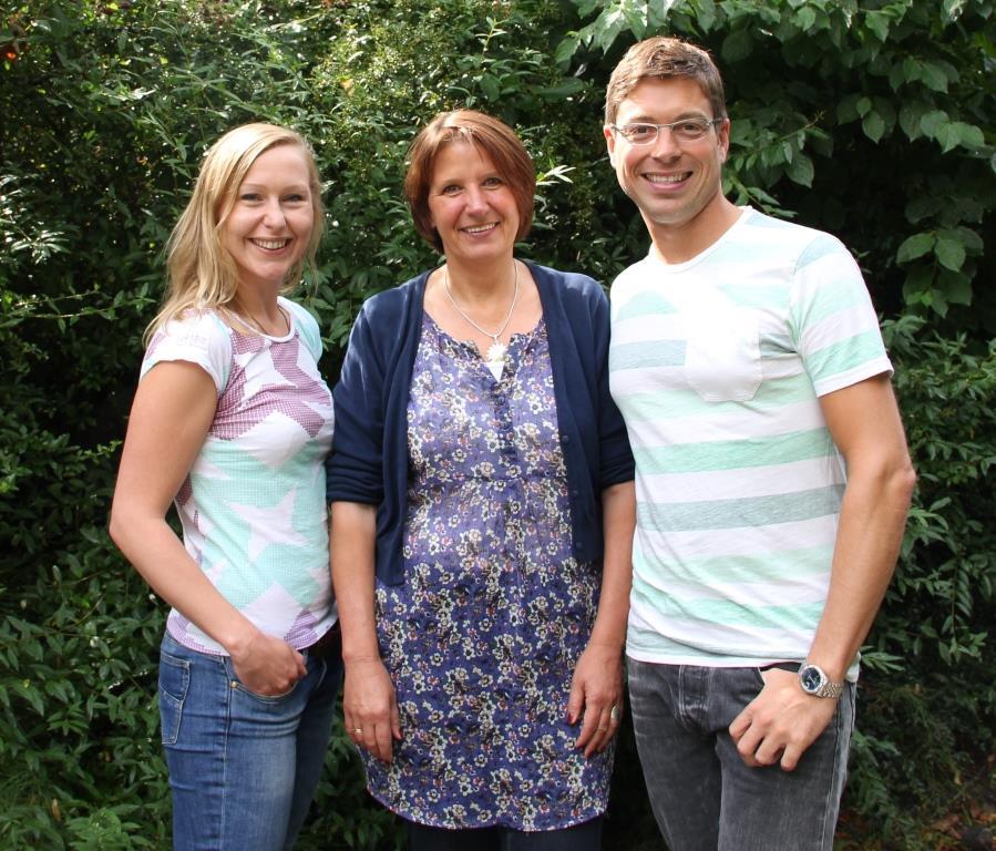 v.l.: Stefanie Kämpf, Regina Brandt, David Jäger