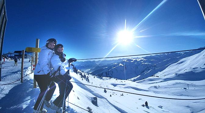 Skiprojekt Hochzillertal   Januar 2018