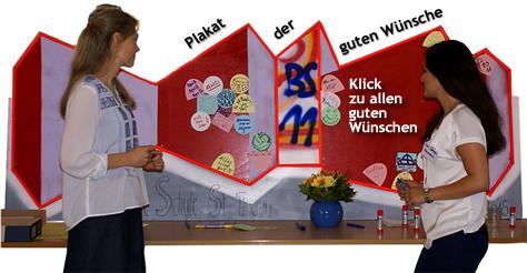Plakat der guten Wünsche
