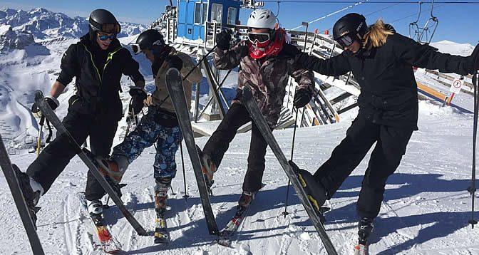 Skikurs 2016 Mölltaler Gletscher