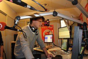 RadioHamburg Moderator Philipp Kolanghis