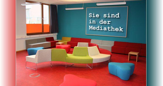 Mediathek täglich von 9.00-15.00 geöffnet