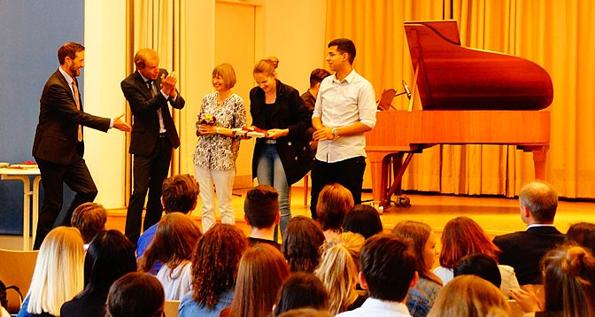 Verleihung des Deutschen Sprachdiploms