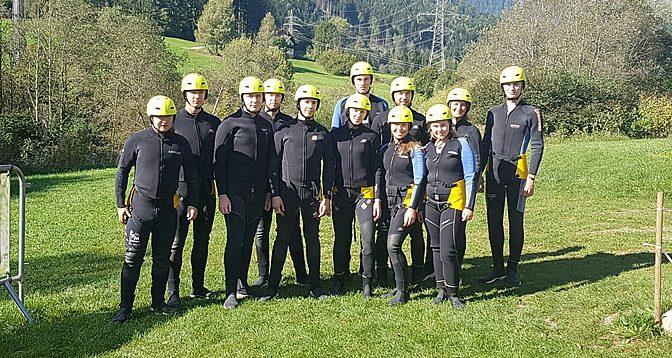 Sportliche Klassenreise nach Österreich