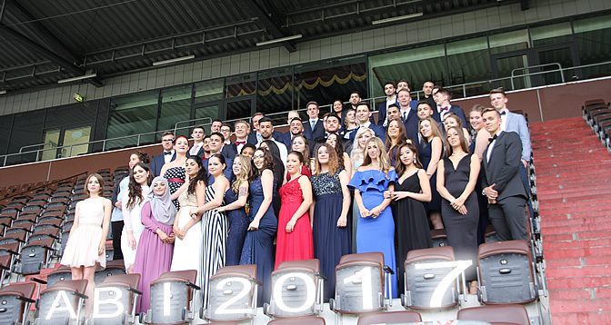 Abiturfeier 2017 im Ballsaal des St. Pauli-Stadions