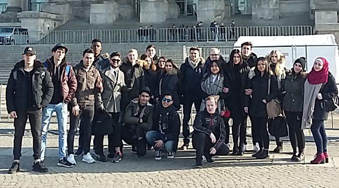 Ausflug zum Bundestag
