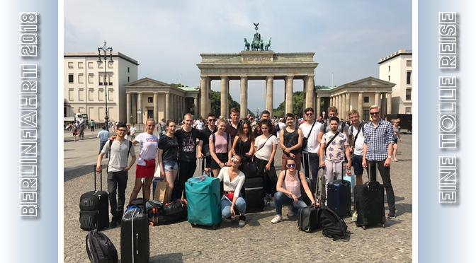 Berlinfahrt der Vorstufe VS 20-2 | Mai 2018