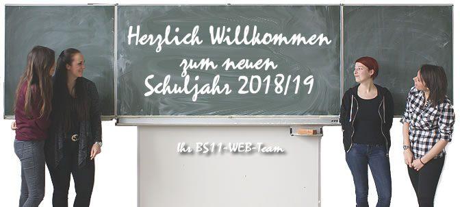 Herzlich willkommen zum neuen Schuljahr
