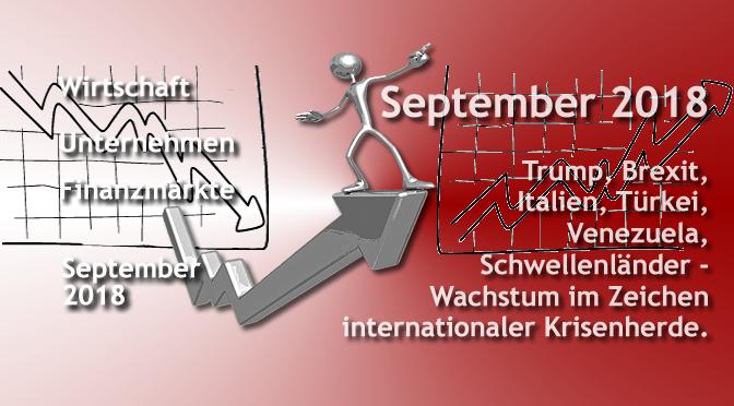 Wirtschaftsanalyse der Banker | Sept. 2018