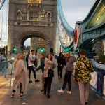 Still the first day … Tower Bridge at dusk… soooo beautiful … and all the waiting and delay was simply forgotten