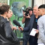 Yeah, we were interviewed – Even in London people seem to know the students form BG St. Pauli