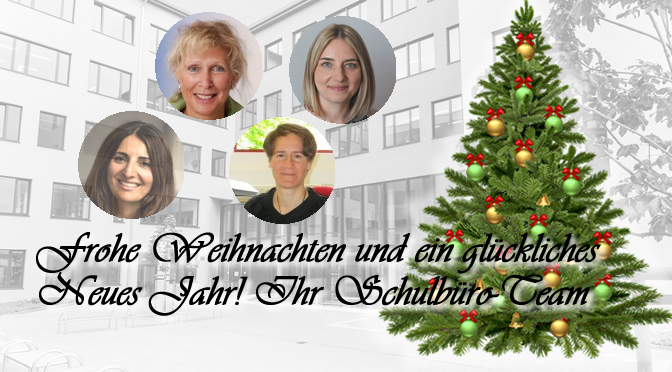 Weihnachtsferien 2018 | Schulbüro