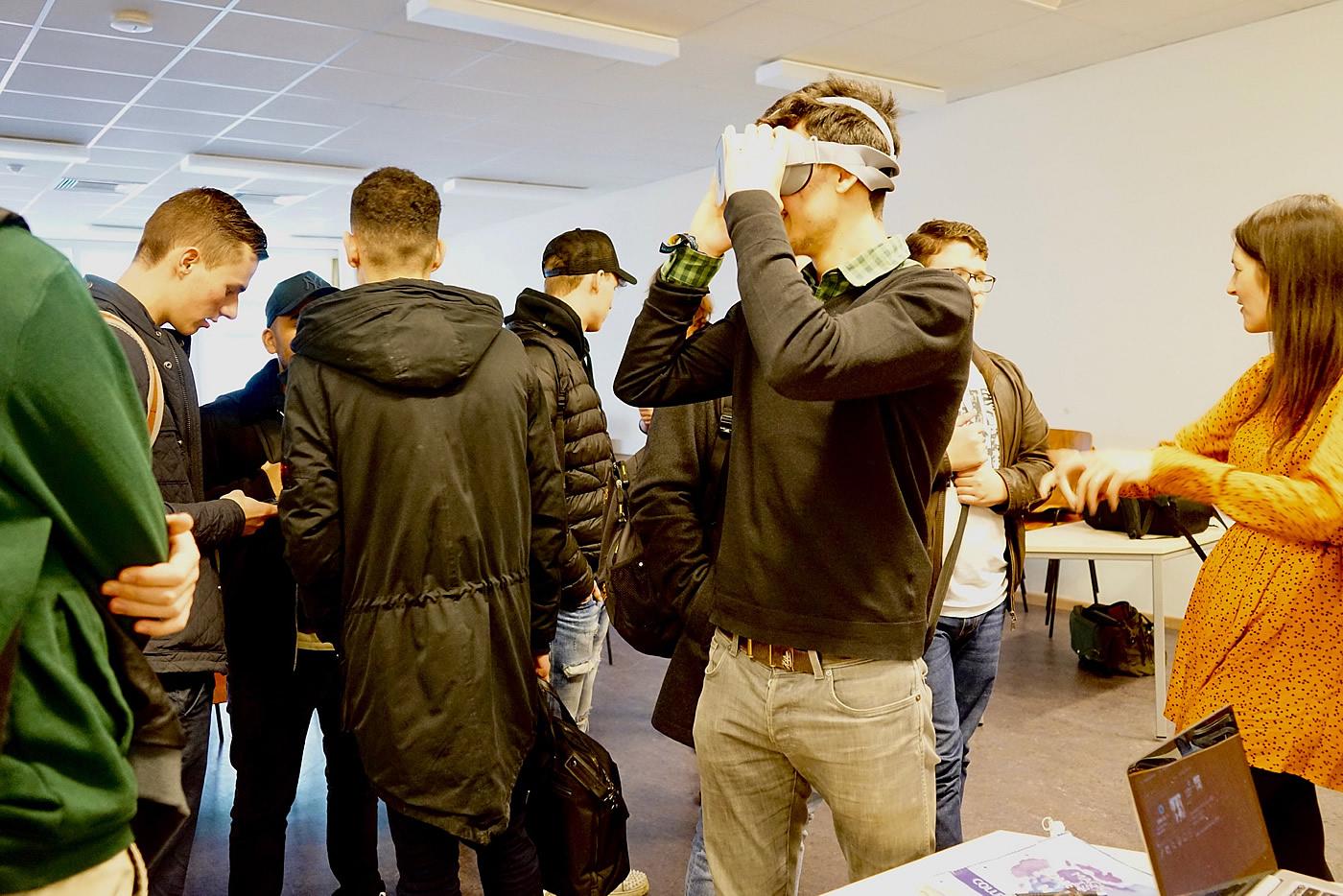 In anderen Welten - Testen einer 3-D-Brille