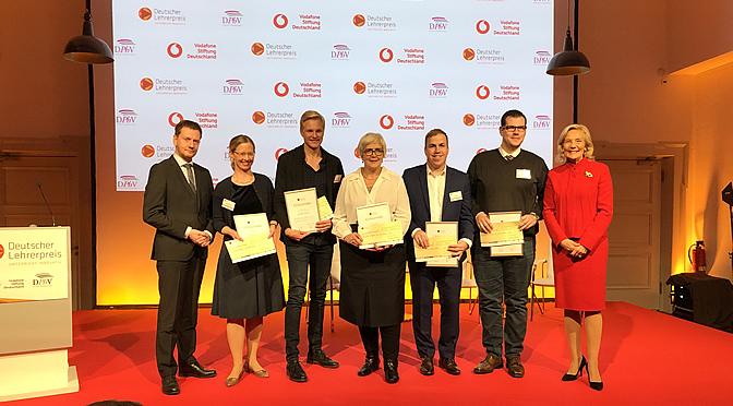 Deutscher Lehrerpreis 2019 | für Keven Lass