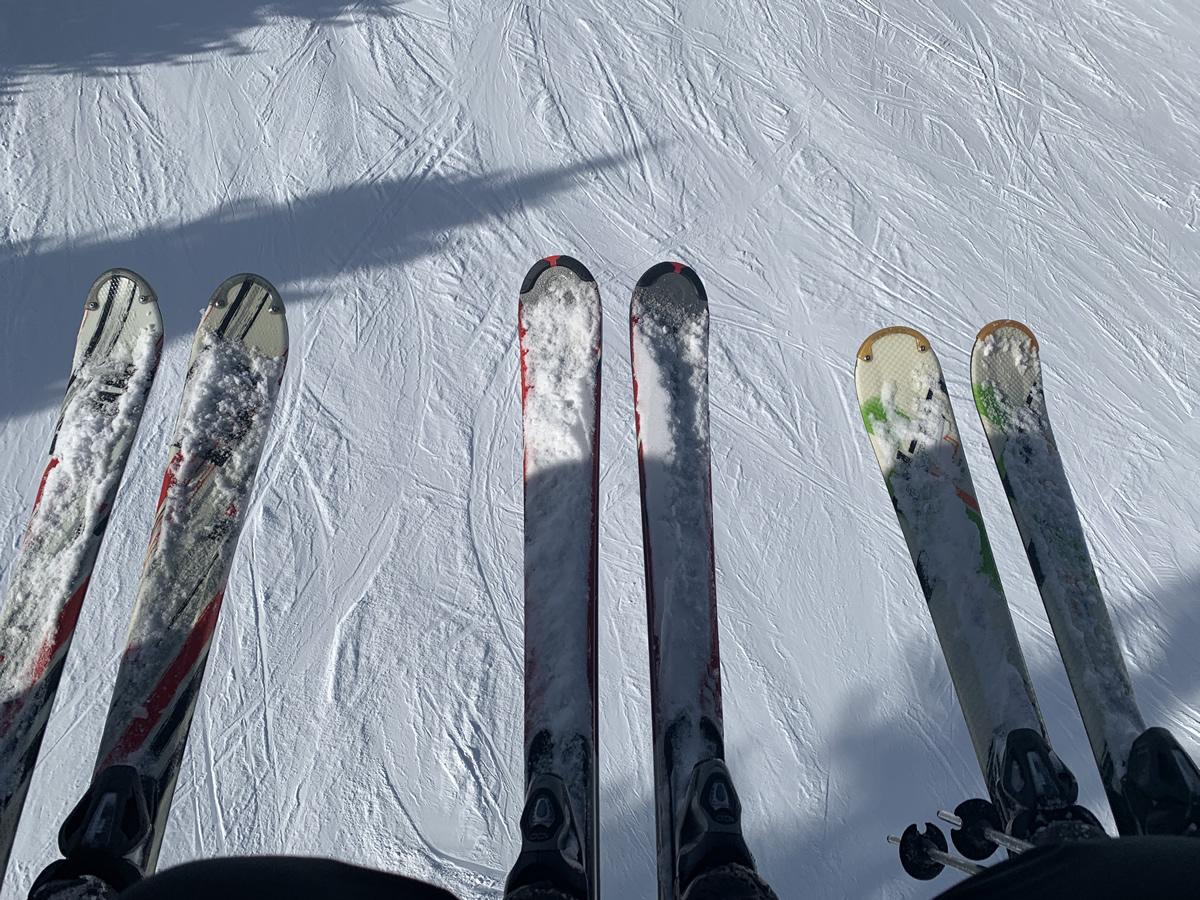 ... bis zur Skifahrt 2021